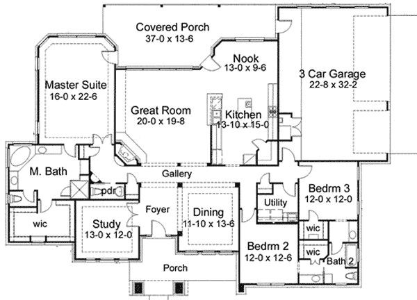 78 Images About House Plans On Pinterest Craftsman