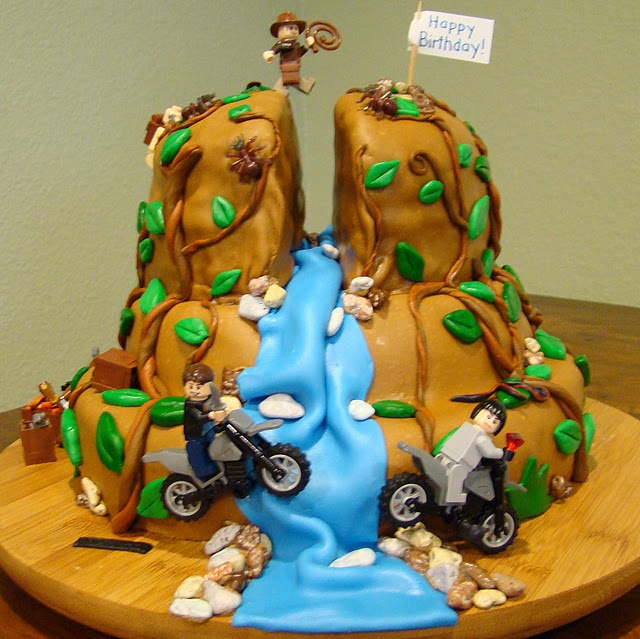 Best Cakes Indiana Jones Images On Pinterest Indiana Jones - Crazy cake designs lego grooms cake design