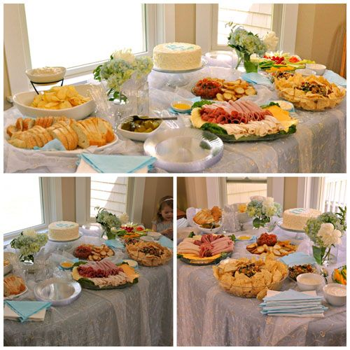 Baby Shower Food Menu, Baby Baptism And Brunch Buffet