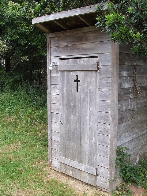 Image result for christian outhouse