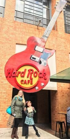 Birthday at Hard Rock Cafe in Johannesburg