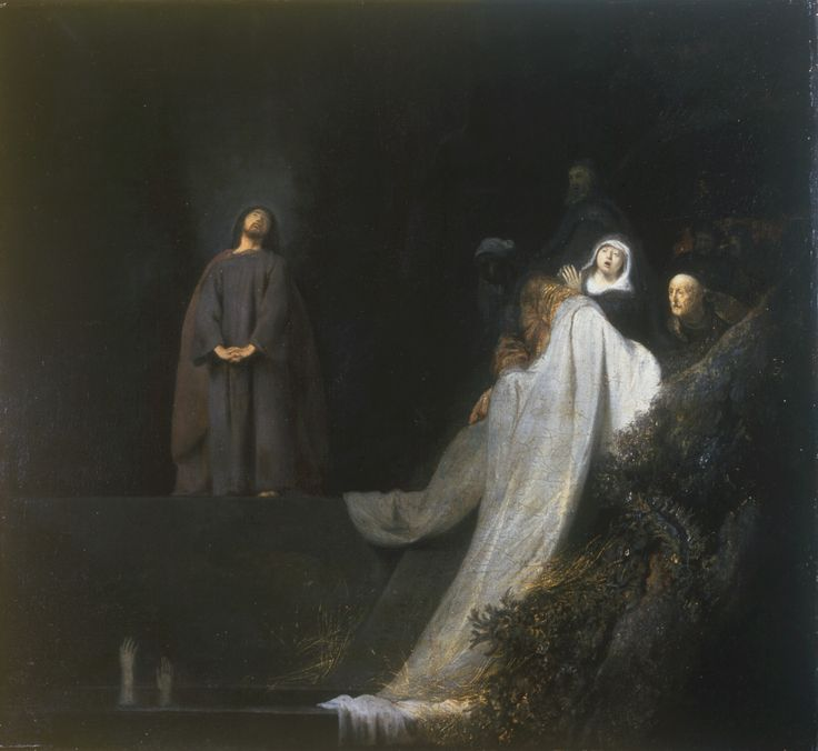 The Raising of Lazarus by Jan Lievens