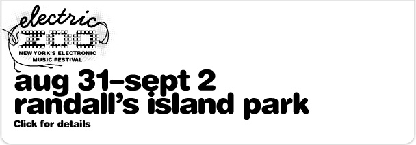 Electric Zoo 2012. Aug 31 - Sept 2. Randall's Island Park