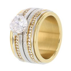 iXXXi ring gold glamour dancer