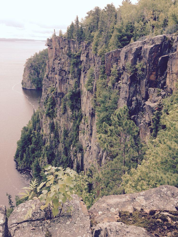 Devils Rock Lake Temiskaming Ontario Canada