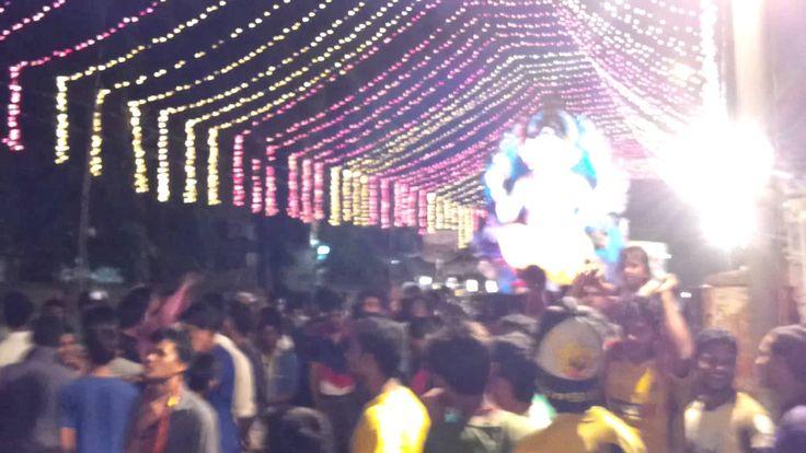 #ganpati Aagaman Shol