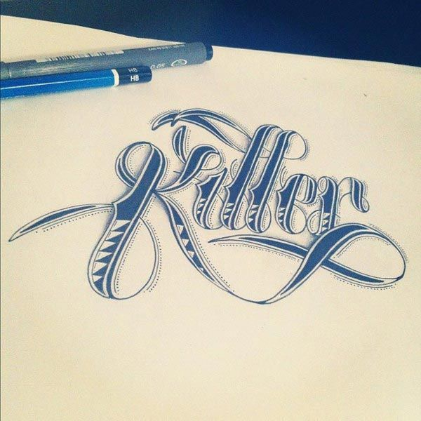 Beautiful Hand Lettering Typography Design 5 40+ Beautiful Hand Lettering Typography by Raul Alejandro