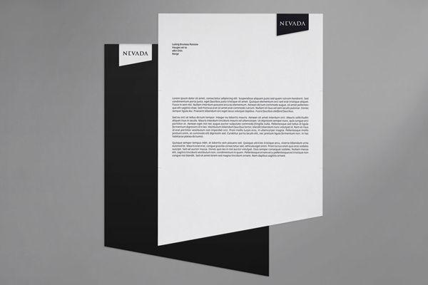 Corporate Design by Ludvig Bruneau Rossow. More on http://lookslikegooddesign.com/design-bruneau-rossow/