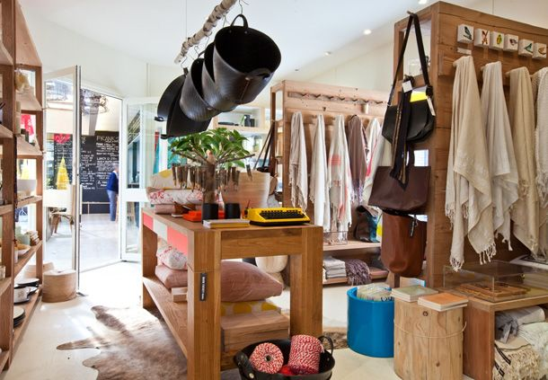 Mark Tuckey's new homewares store in Avalon, Sydney. - looks like a great store to visit