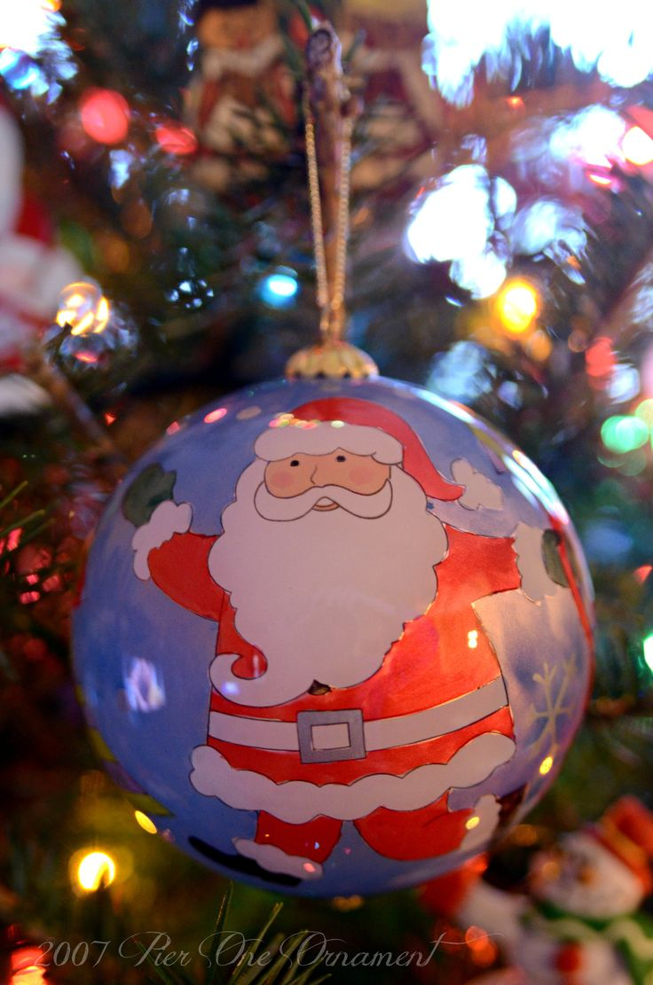 I Adopted Another Ornament For The 2015 Tree It Is A 2007 Hand Painted  Ornament