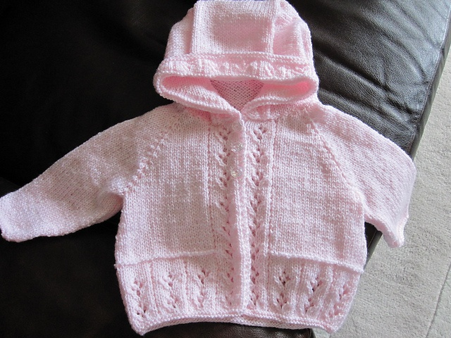 Ravelry: Matinee Coat with Round Neck or Hood pattern by Sirdar Spinning Ltd.