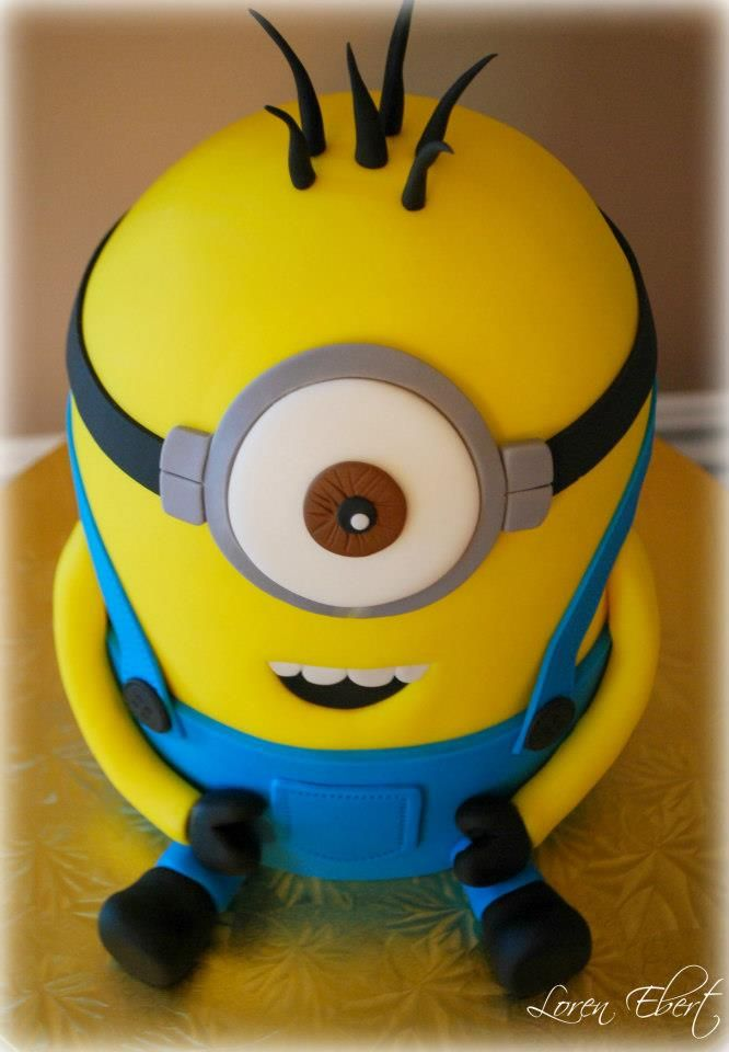 Despicable Me Cake Pan Minion Cake By The Baking Sheet