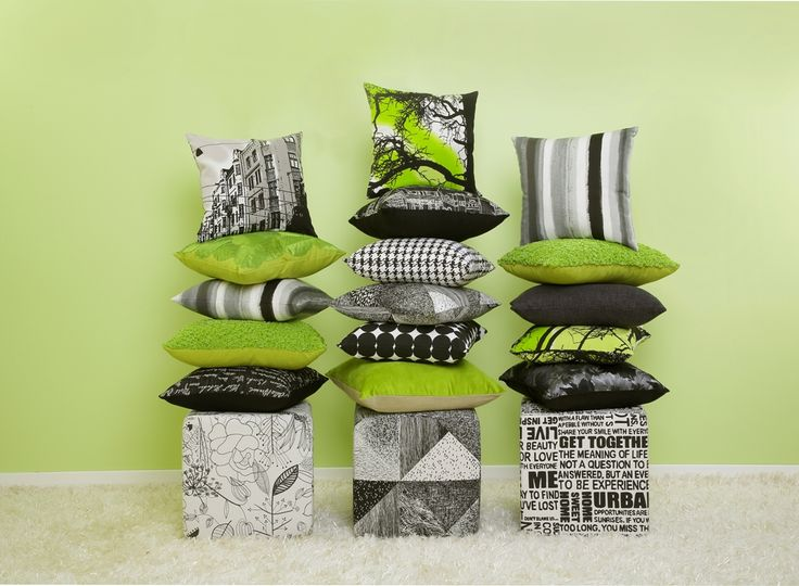 A cushion showcase. The hardest part is choosing which ones to cut!