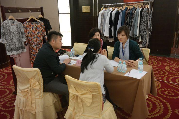 Business meeting at Beijing
