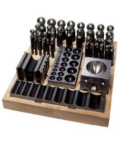 VALUE DAPPING and FORMING TOOL SET 40pcs