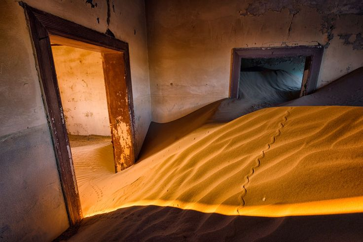 Kolmannskuppe – die Geisterstadt, die im Sand versinkt