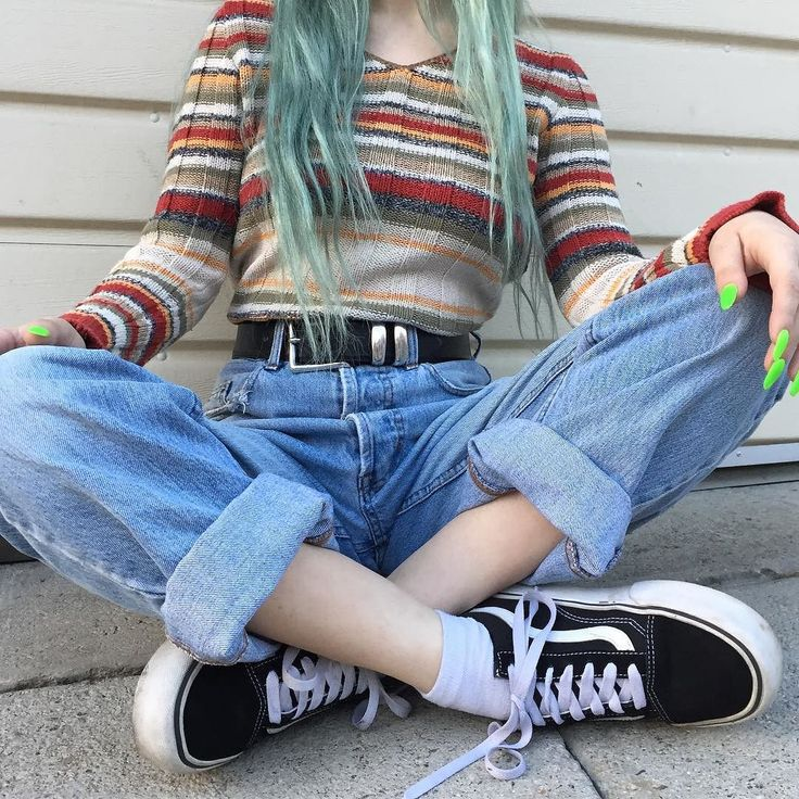 """Mom jeans and more! All vintage bottoms are 50% off this weekend with the code """"BOTTOMSUP!"""""""