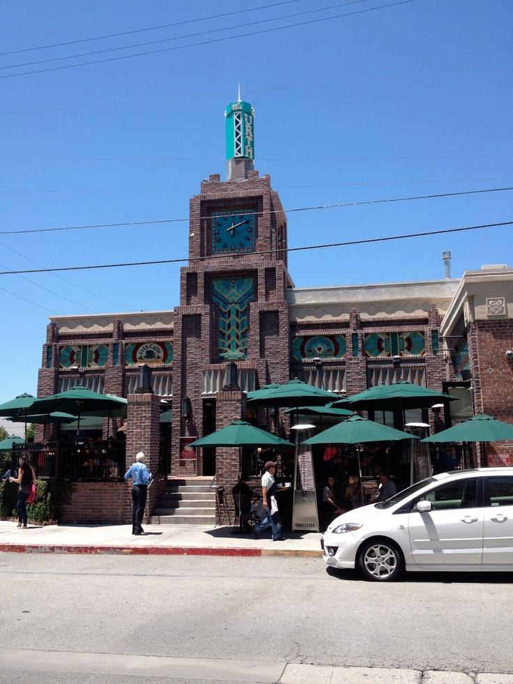 Urth Cafe. LA Arts District. Downtown Los Angeles, CA. Zippertravel.com Digital Edition