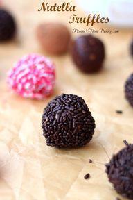 Nutella Truffles fro