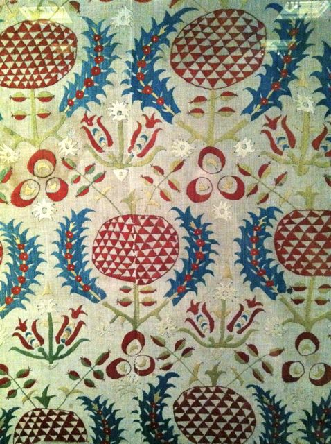 Ottoman Embroidery from the V&A Museum in London - Inspired