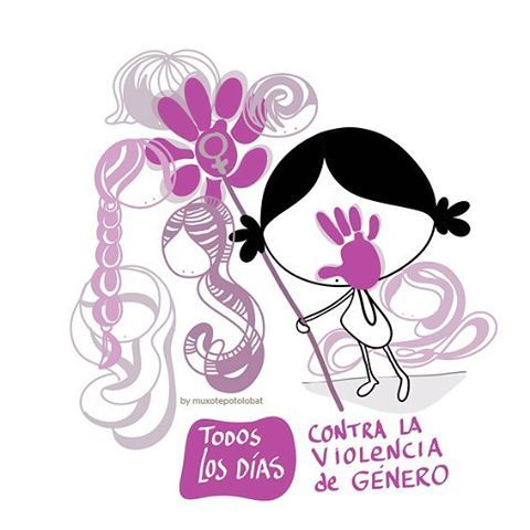 Todos los días... contra la violencia de género. Y ya está. ¡Y ya está bien! ¡Ni una menos! #Eeeegunon mundo!! #25N #DíaInternacionalContraLaViolenciaDeGénero