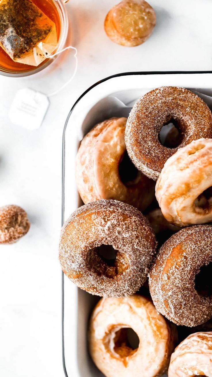 Chai Spiced Old Fashioned Donuts