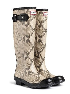 Carnaby Snake Rain Boots | Wellies | Hunter Boots - ON SALE FOR $69.00 FREE SHIPPING CANADA!