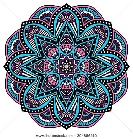 les 25 meilleures id es de la cat gorie mandala couleur sur pinterest mandala en couleur. Black Bedroom Furniture Sets. Home Design Ideas