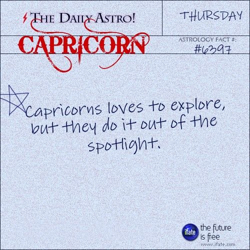 Capricorn Daily Astro!: This is a great (free!) online tarot reading.  Visit iFate.com today!