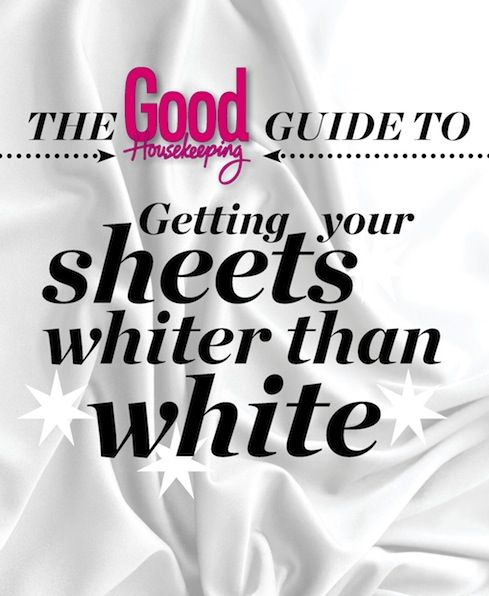 Get your Sheets Whiter than White  #laundry #cleaning