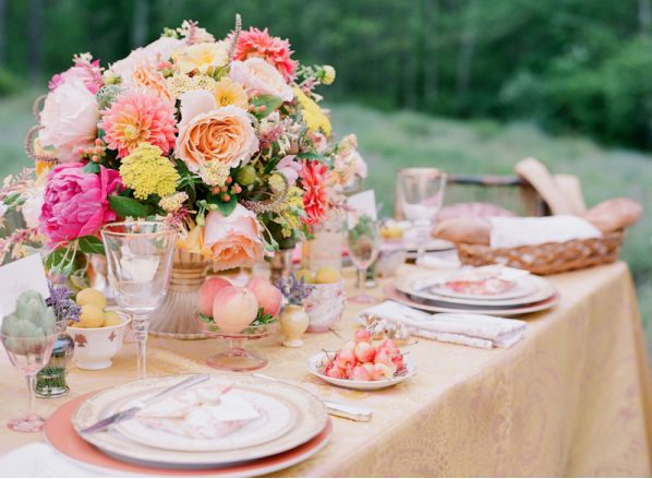 Summer Table Decorations Ideas