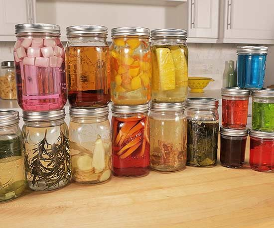 Step up your cocktail-making game with these exceptional vodka infusions you can make at home {Better Homes & Gardens}