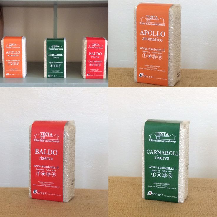 Our new 1,1 Lb #rice package, very smart