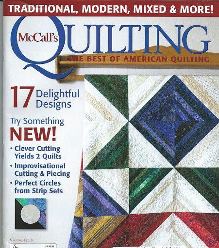 MQ Mar-Apr 16 - splash of color part 2 series quilt - Picasa Web Albums