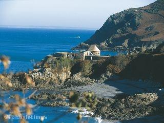 La Crête Fort, Jersey, Channel Islands #fort #uniquehomes #seaview