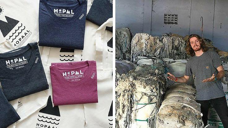 Hopaal : le Tee-shirt 100% recyclé qui prend soin de la planète !