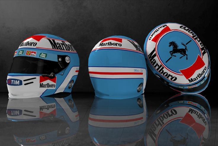 Helmet Salo Ferrari
