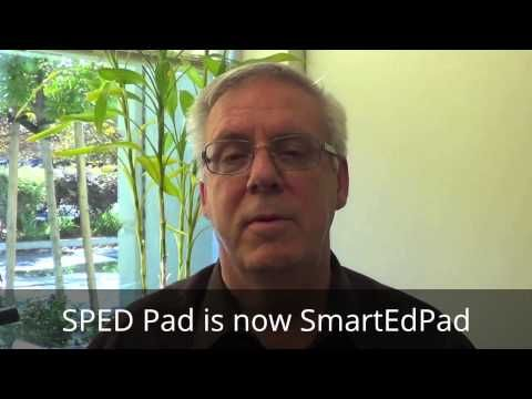 How does the SmartEdPad help Dr. Jay Totter and his speech therapy services? Let him tell you!
