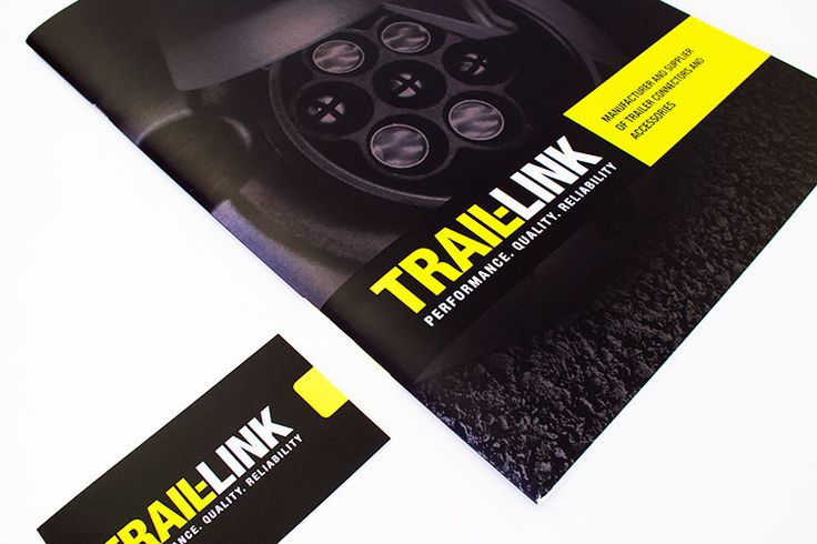 Trail Link Brochure and Business Cards