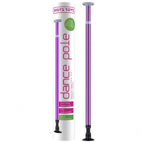 Barre de Pole Dance pourpre de Shots Toys.