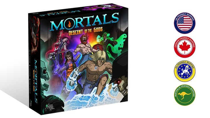 Mortals: Descent of the Gods Board Game Up On Kickstarter  http://www.tabletopgamingnews.com/mortals-descent-of-the-gods-board-game-up-on-kickstarter/