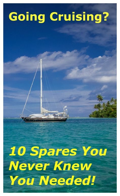 Cruising boats have spare parts for almost everything ... don't overlook these!  CommuterCruiser.com