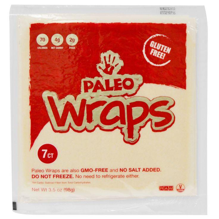 The Julian Bakery, Paleo Wraps, 7 Wraps, 3.5 oz (98 g)