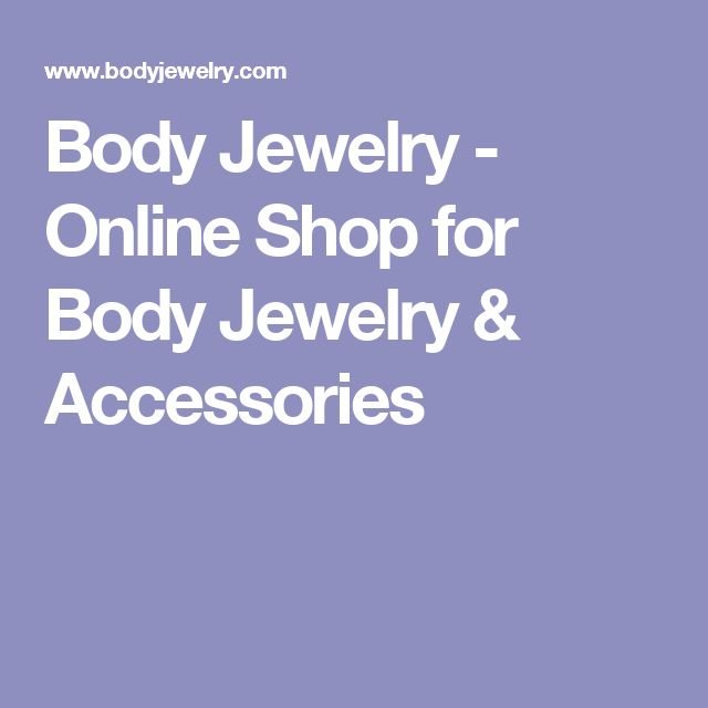 Body Jewelry - Online Shop for Body Jewelry & Accessories