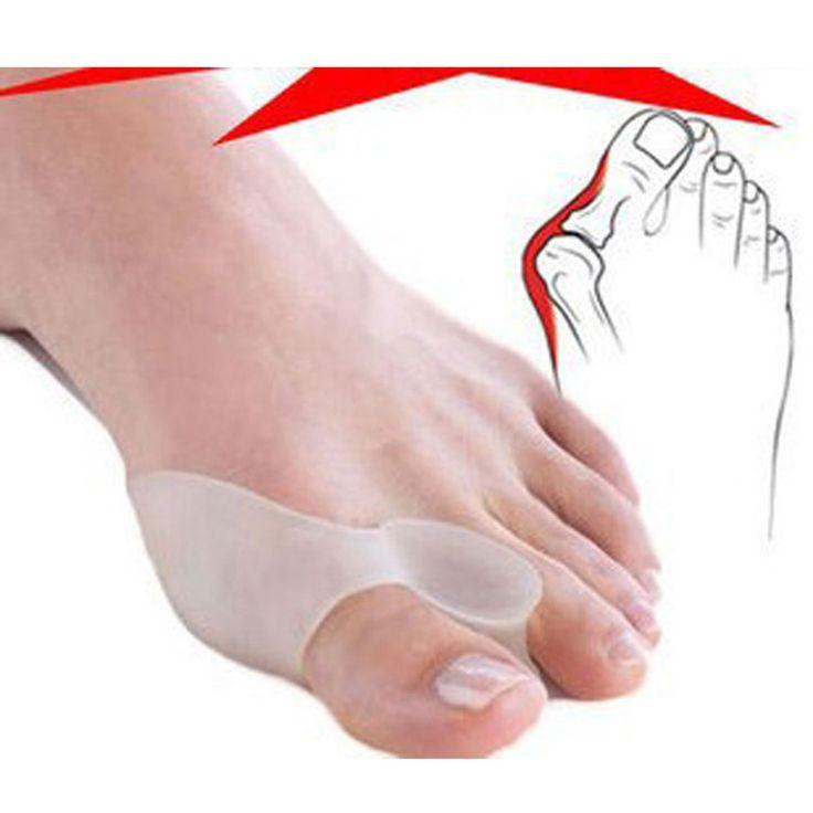 Separador de dedos escarabajo trituradora del hueso Ectropion para tacones altos plancha de alivio del dolor de silicona Gel Protector Valgus cuidado de los pies