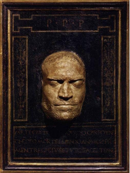 Death Mask Of Lorenzo De Medici 1492