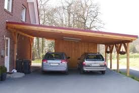 carports attached to house - Google Search- only single car with the back section a shallow tool shed