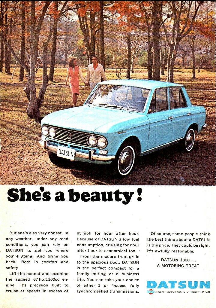1967 Datsun 1300 - Australia, Ad ONE of '67