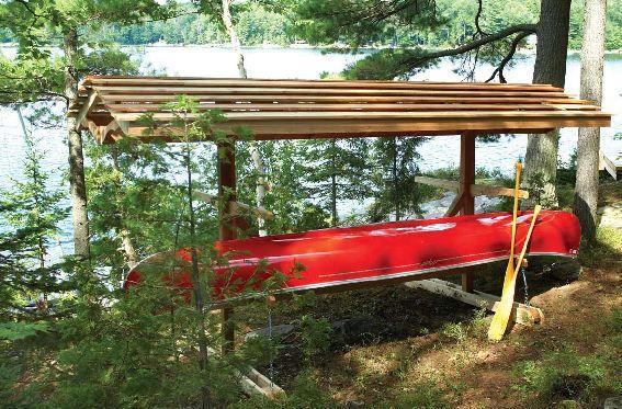 Free Canoe Boat Rack Wood Plans