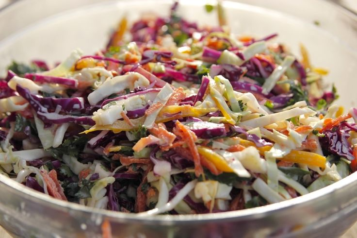 Colorful Coleslaw recipe from Ree Drummond via Food Network